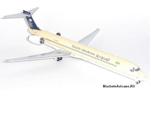 McDonnell Douglas MD-90-30 Saudi Arabian Airlines 1:200