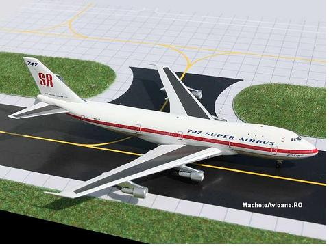 Boeing B747-100SR Boeing Aircraft Company 1:400