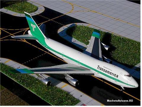 Boeing B747-200 Transamerica 1:400