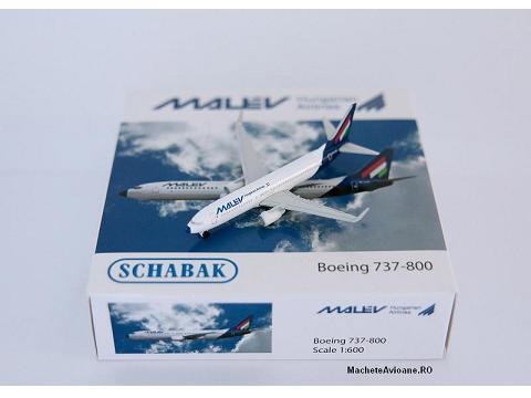 Boeing 737-800 MALEV 1:600