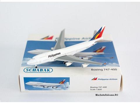 Boeing 747-400 Philippine Airlines 1:600