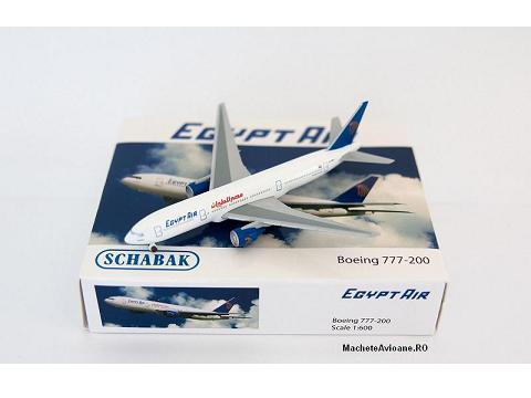 Boeing 777-266ER Egypt Air 1:600