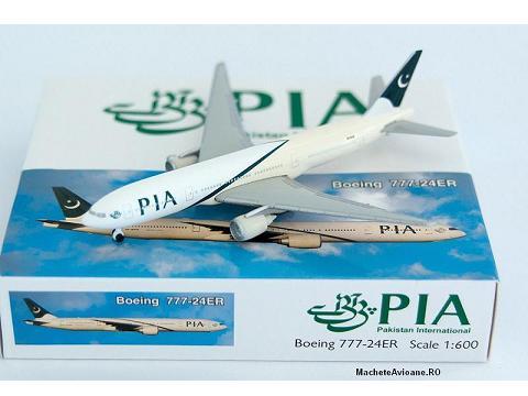 Boeing 777-24ER Pakistan International PIA 1:600