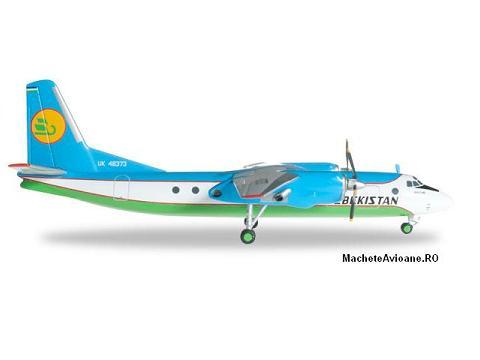 Antonov AN-24B Uzbekistan Airways 1:200