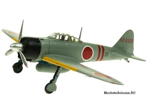 Mitsubishi A6M2 Zero Japan Navy Junyo Fighter 1:72