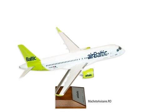Airbus A220-300 airBaltic 1:100