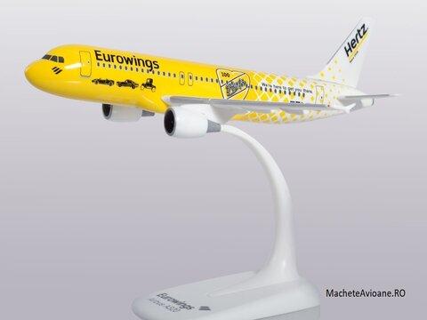 Airbus A320-200 Eurowings Hertz 1:200