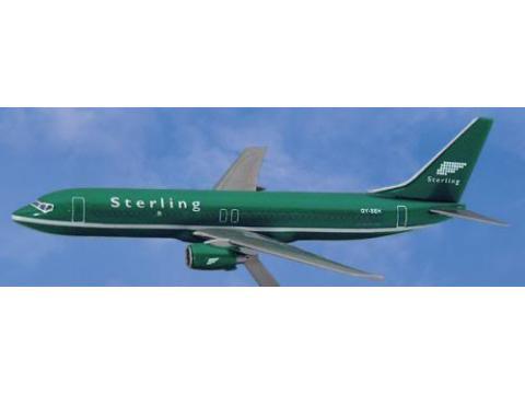 Boeing B737-800 Sterling 1:200