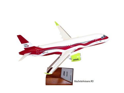 Airbus A220-300 airBaltic LATVIA 100 1:100