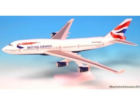 Boeing B747 British Airways 1:250