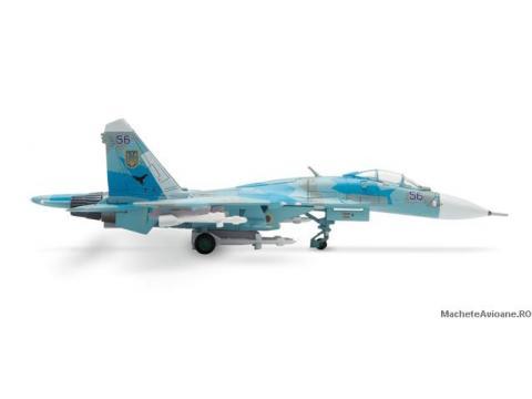 Sukhoi SU-27 Russian Knights Aerobatic Team 1:200