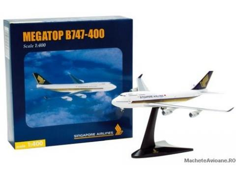 Boeing B747-400 Singapore Airlines 1:400