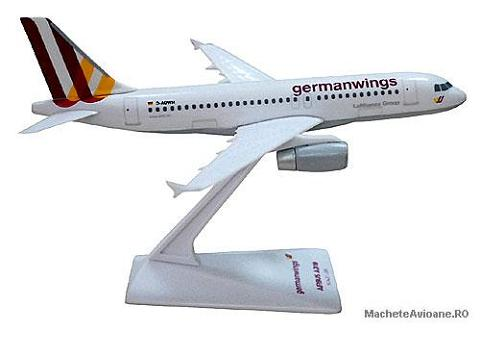 Airbus A319-100 Germanwings New Livery 1:200
