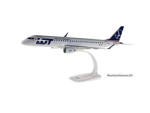 Embraer ERJ195 LOT Polish Airlines 1:100