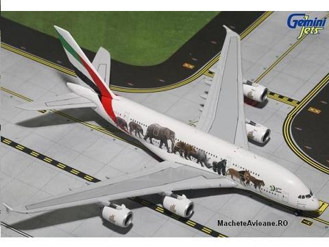 Airbus A380-800 Emirates Wildlife 1:400