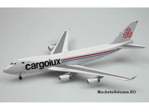 Boeing B747-400F Cargolux 1:400