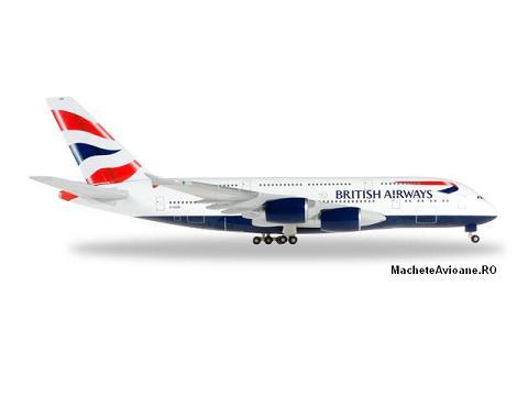 Airbus A380-841 British Airways 1:500