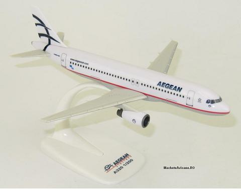 Airbus A320-200 Aegean Airlines 1:200
