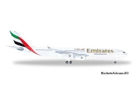 Airbus A340-300 Emirates 1:500