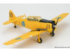 North American T-6 Texan Sk.16 Harvard Swedish Air Force 1:72